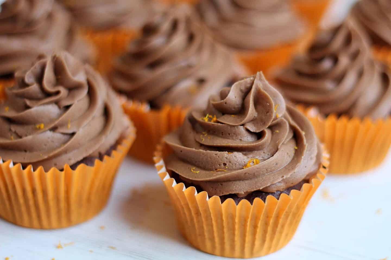 Gluten Free Chocolate Orange Cupcakes Recipe