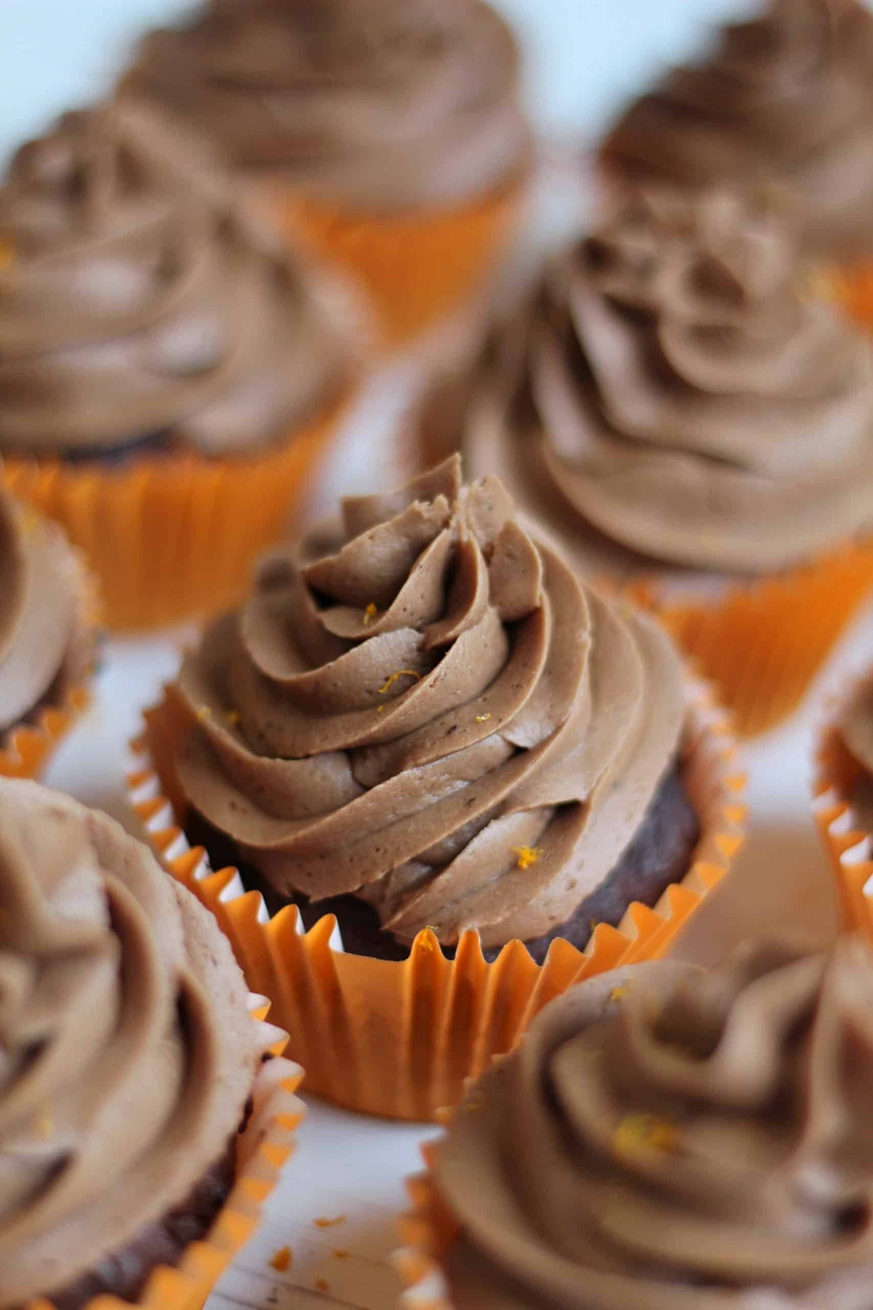 Gluten Free Chocolate Orange Cupcakes Recipe 31_Fotor