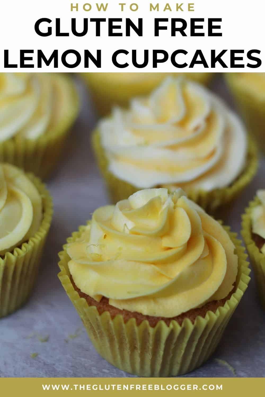 Gluten Free Lemon Drizzle Cupcakes Recipe