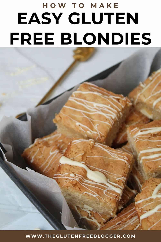 gluten free blondies recipe