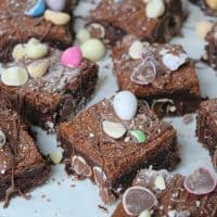 gluten free easter brownies