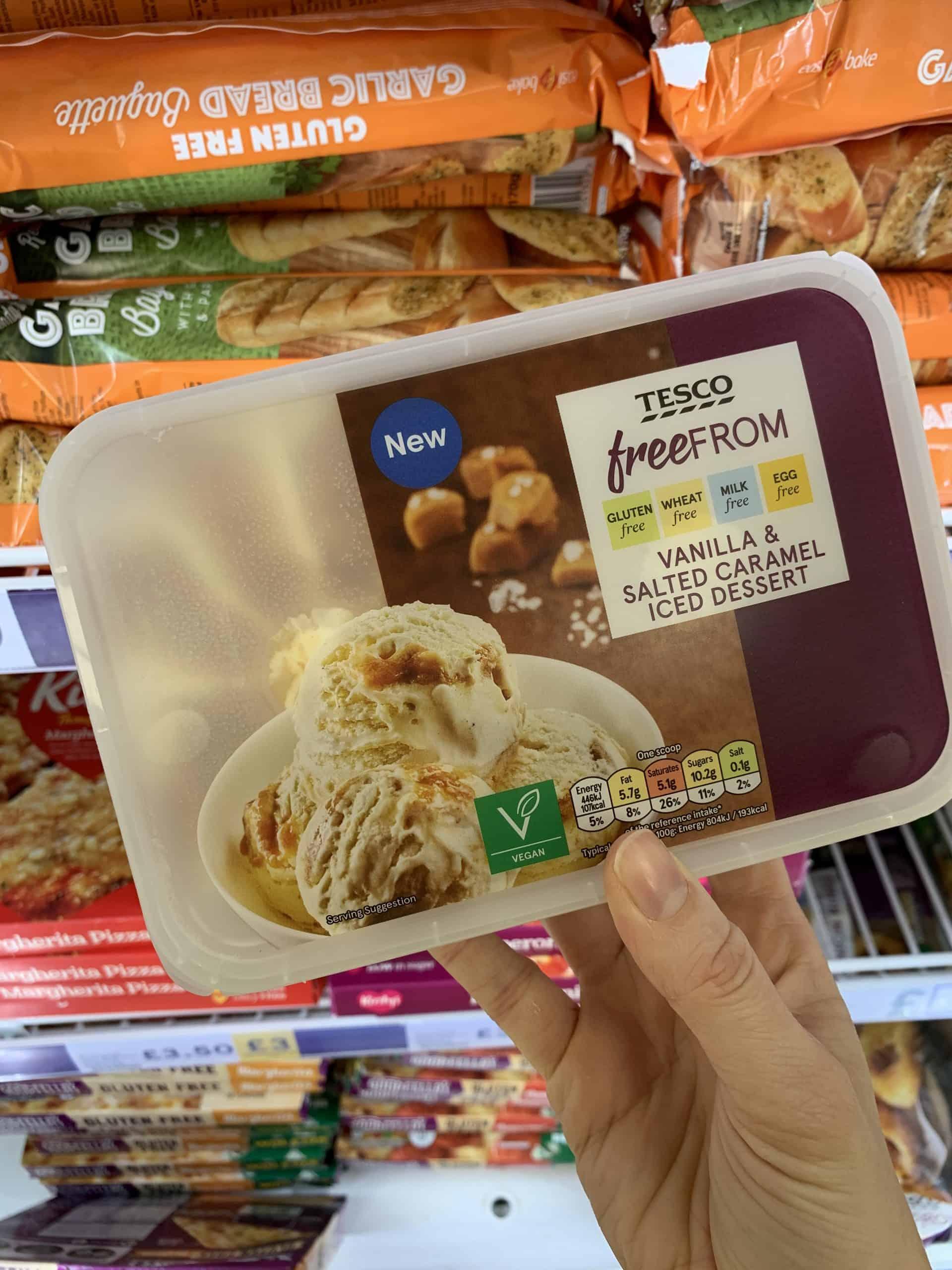 tesco gluten free ice-cream
