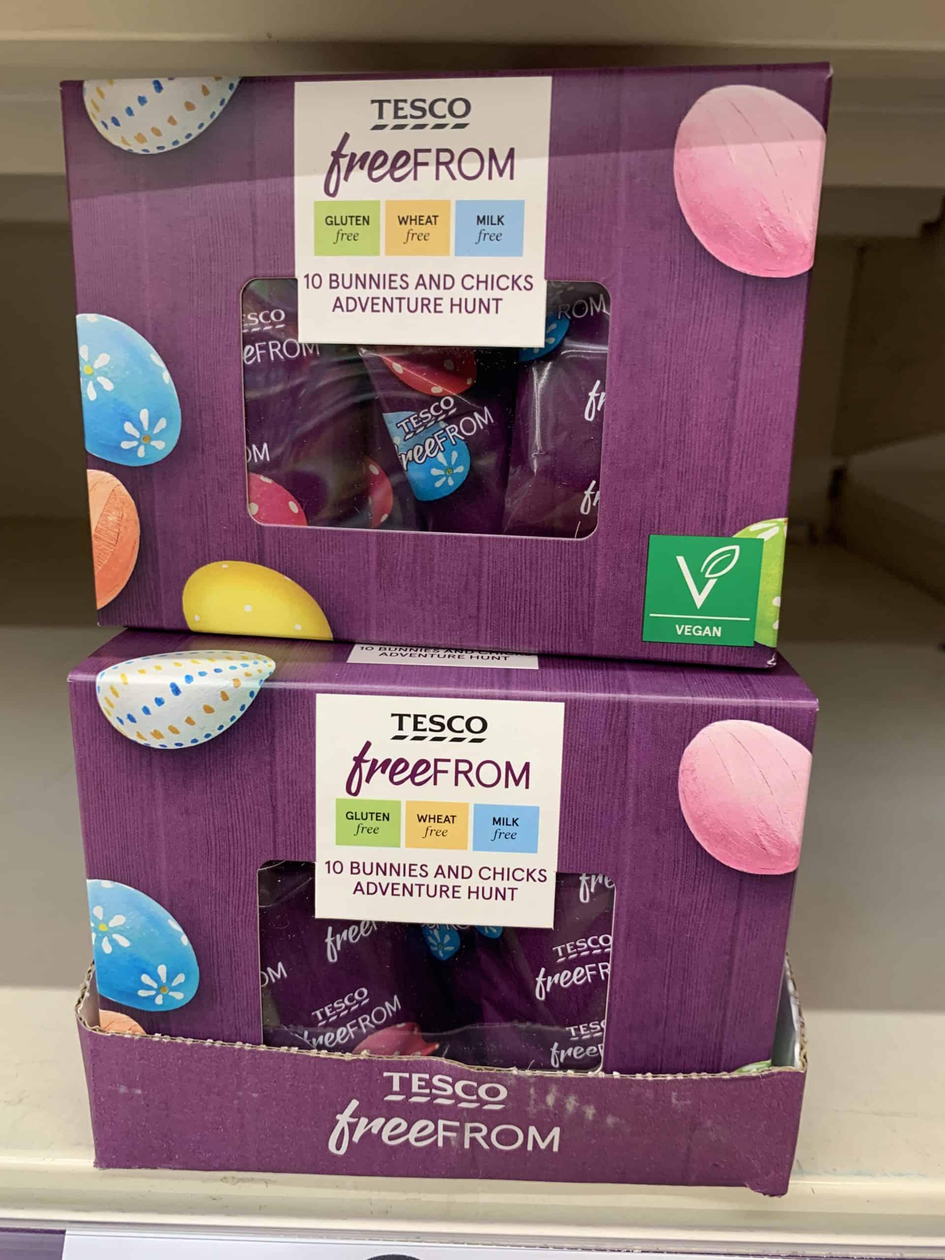tesco easter egg hunt kit dairy free