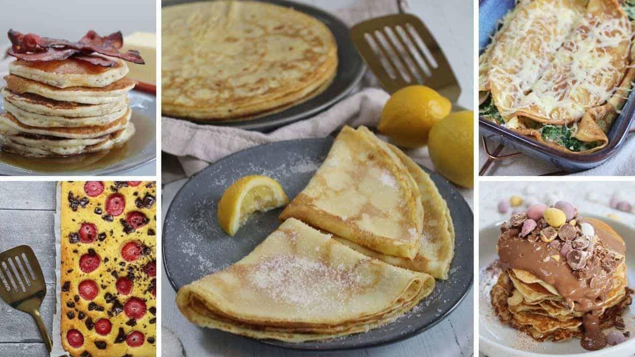 gluten free pancake recipe round-up