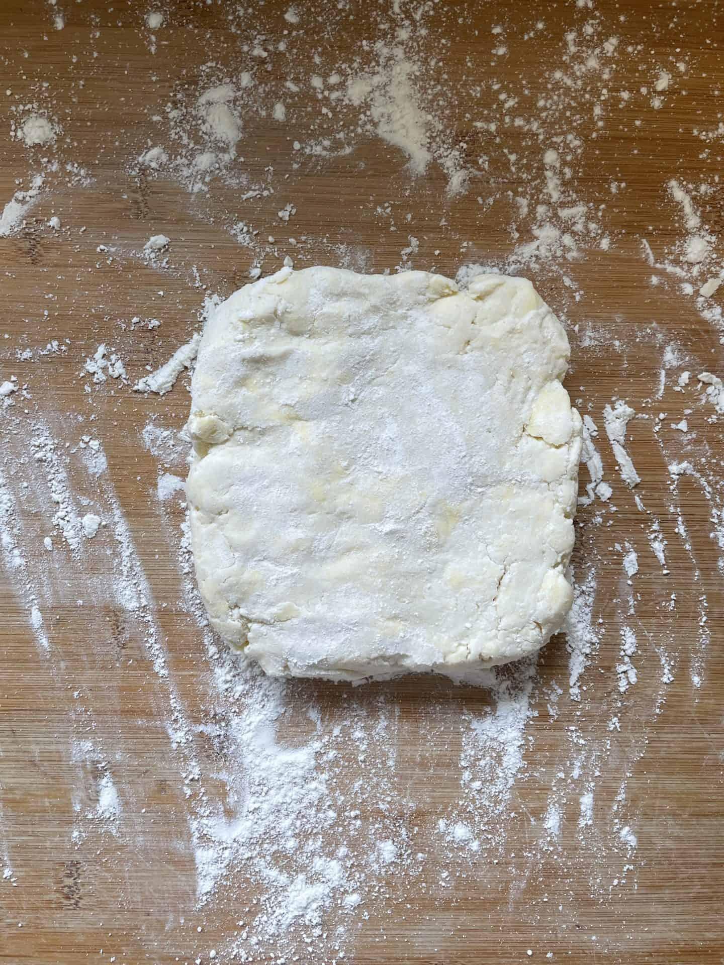 gluten free puff pastry (rough puff)