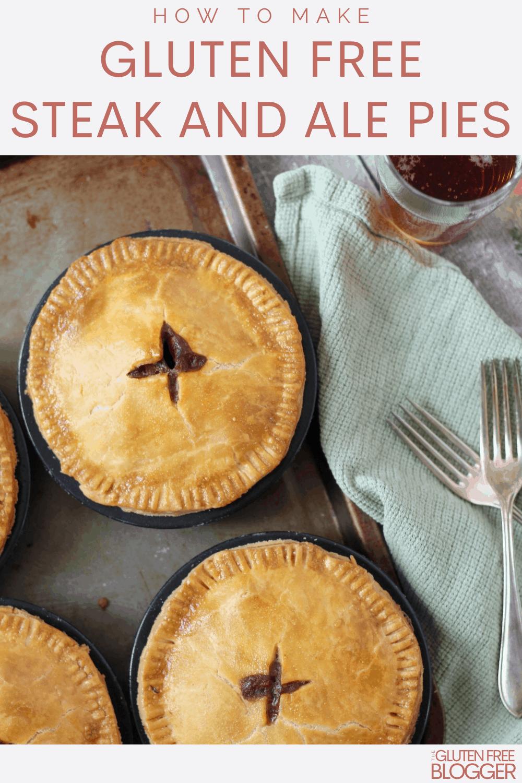 gluten free steak and ale pie recipe