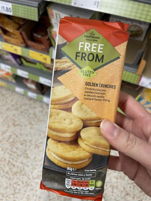 morrisons free from golden crunchies