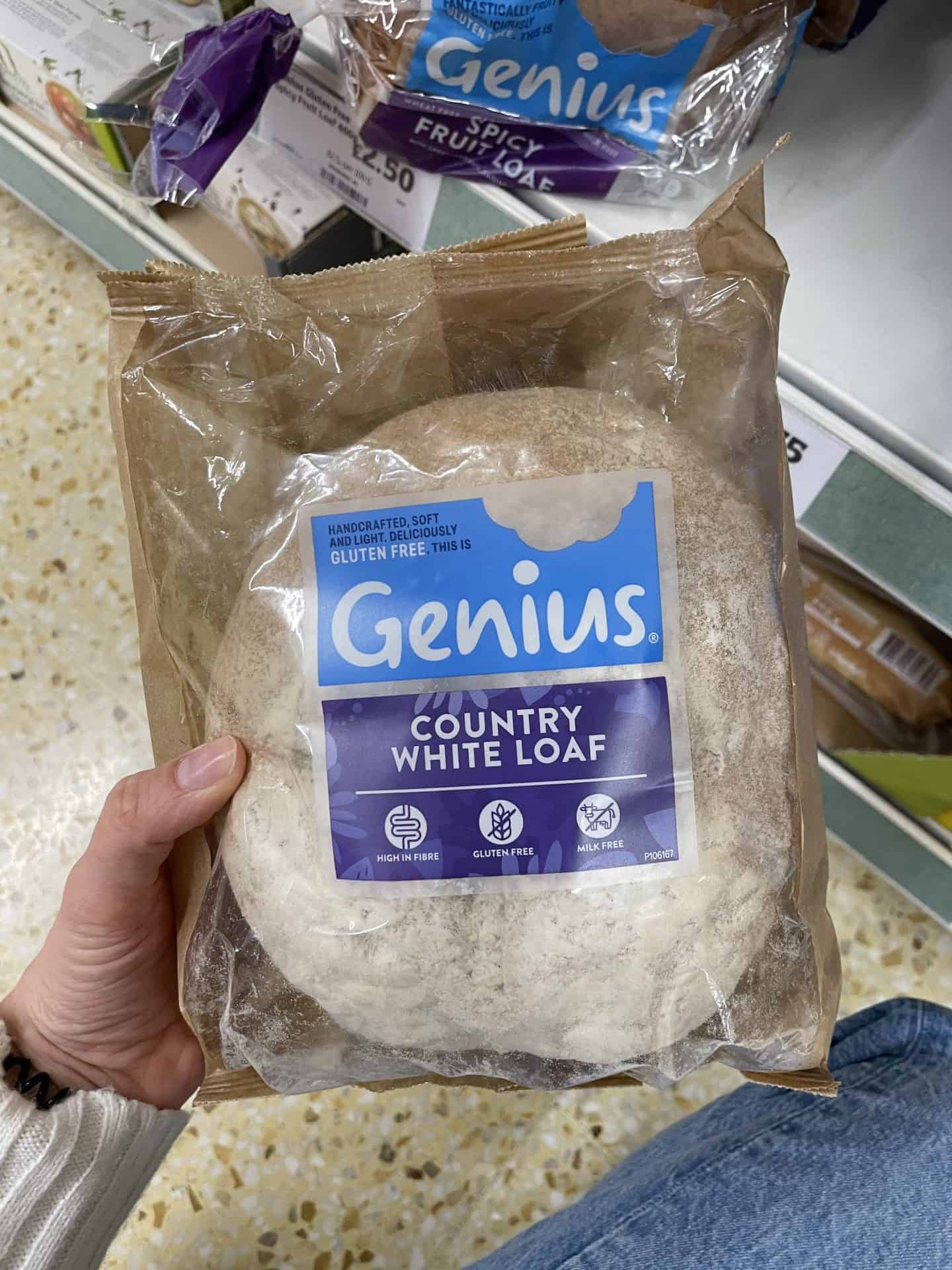 genius gluten free country white loaf