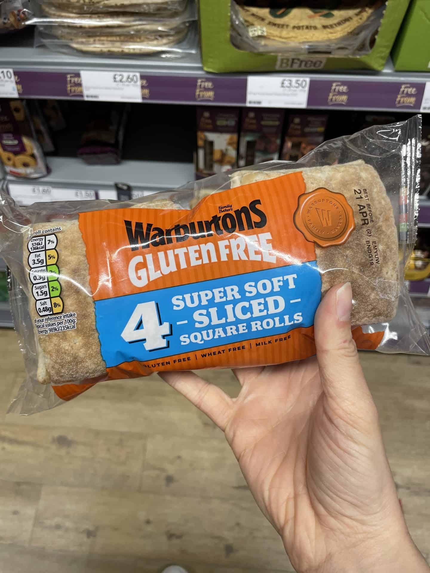 warburtons super soft square rolls