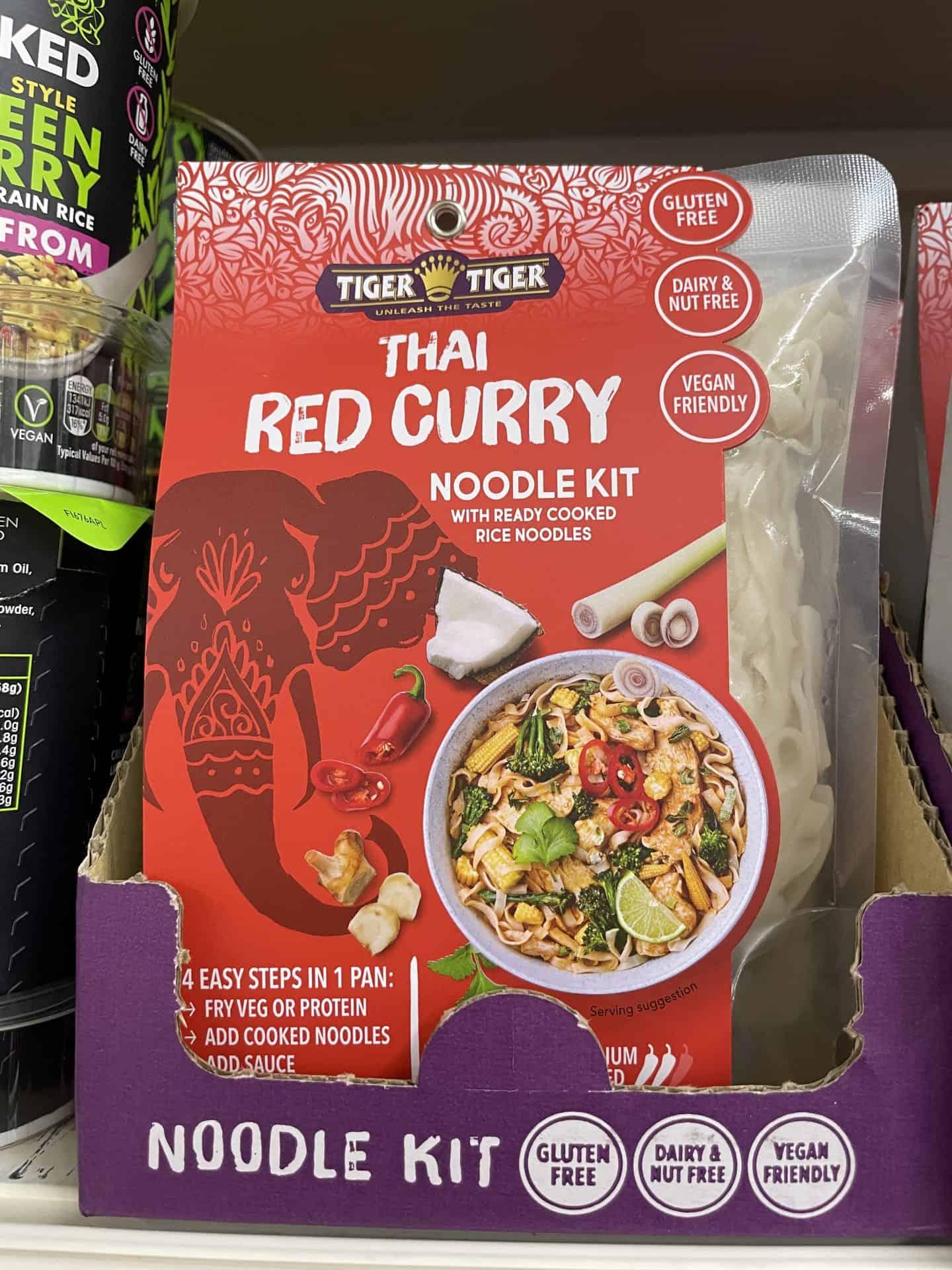 gluten free thai red curry kit