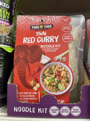 gluten free thai red curry kit