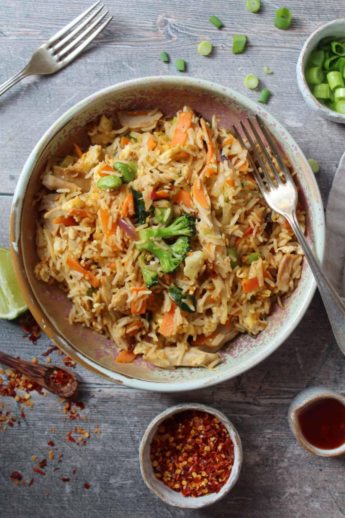 gluten free chicken fried rice recipe