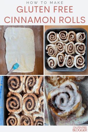gluten free cinnamon rolls recipe