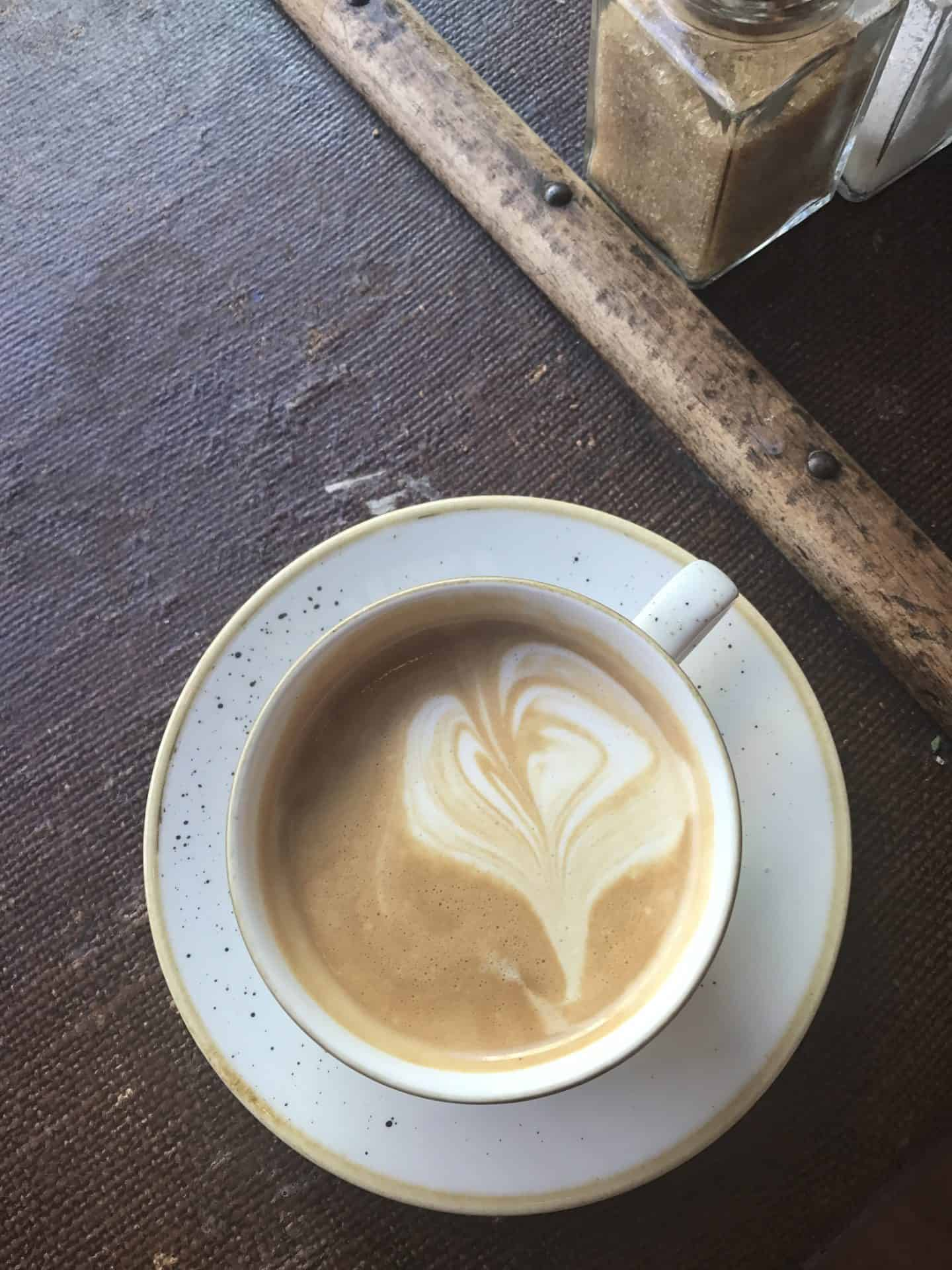 gluten free oat milk coffee