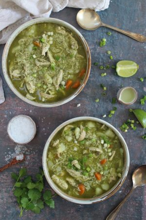 peruvian chicken soup recipe