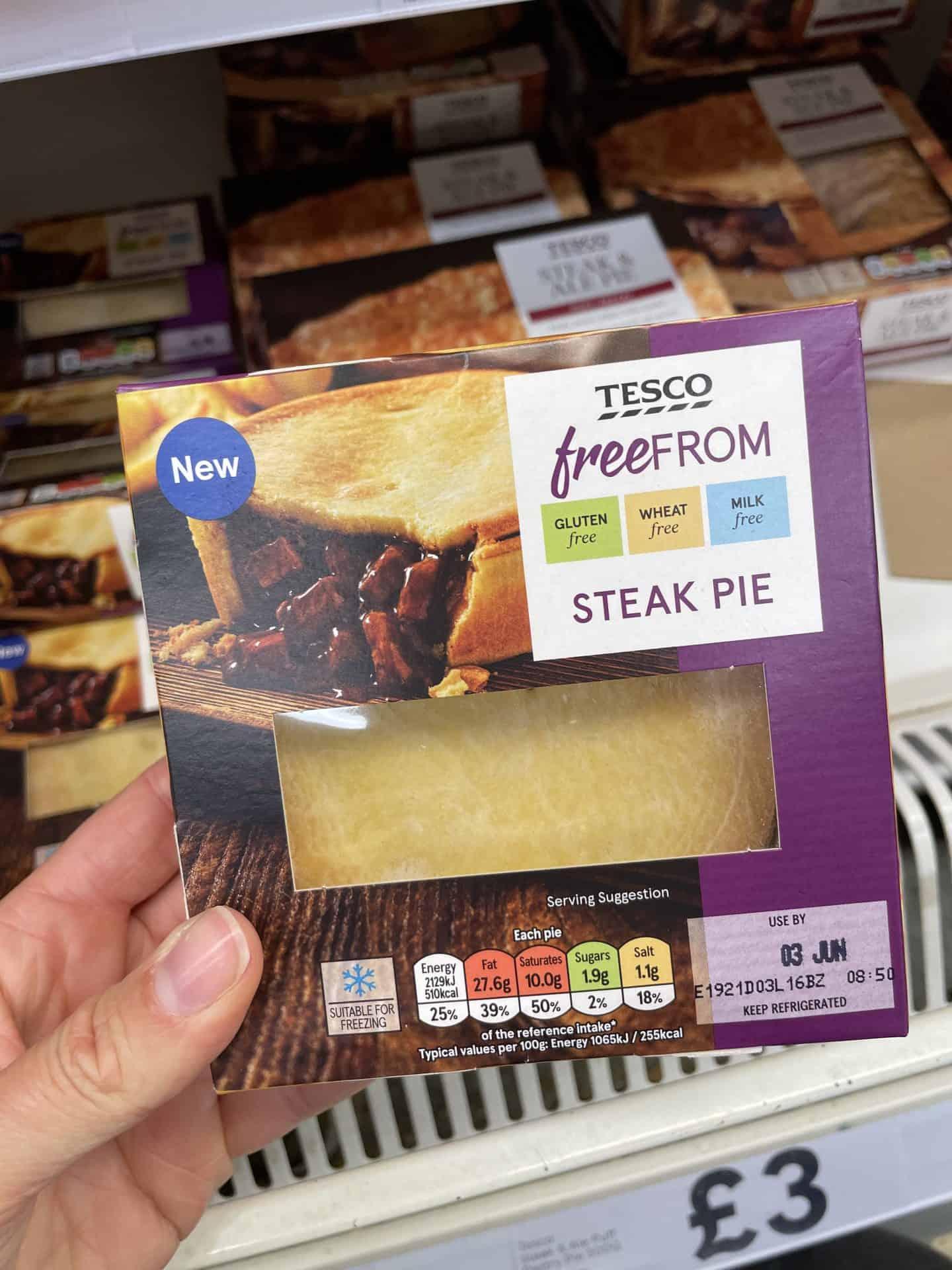 gluten free steak pie tesco 2