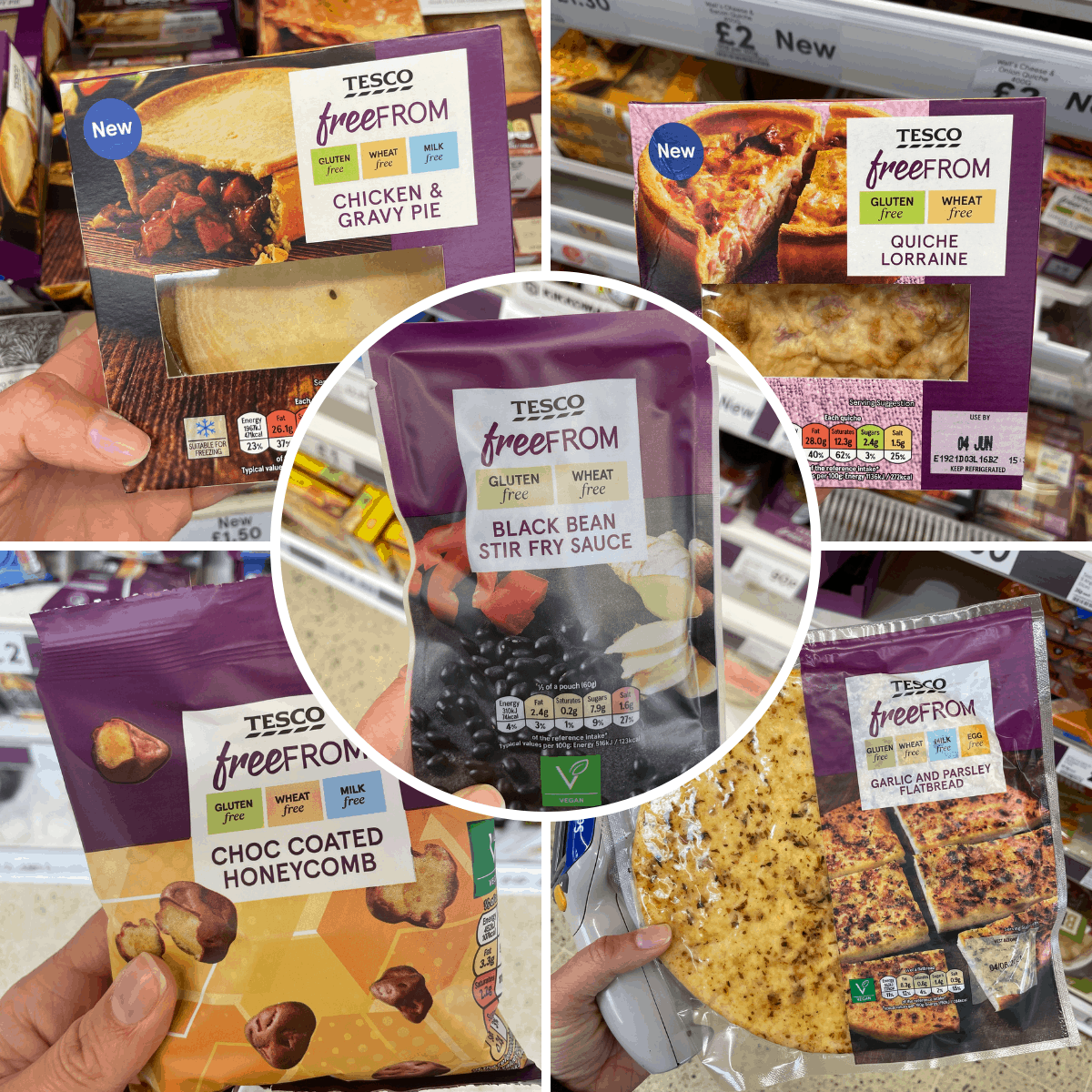 gluten free tesco products