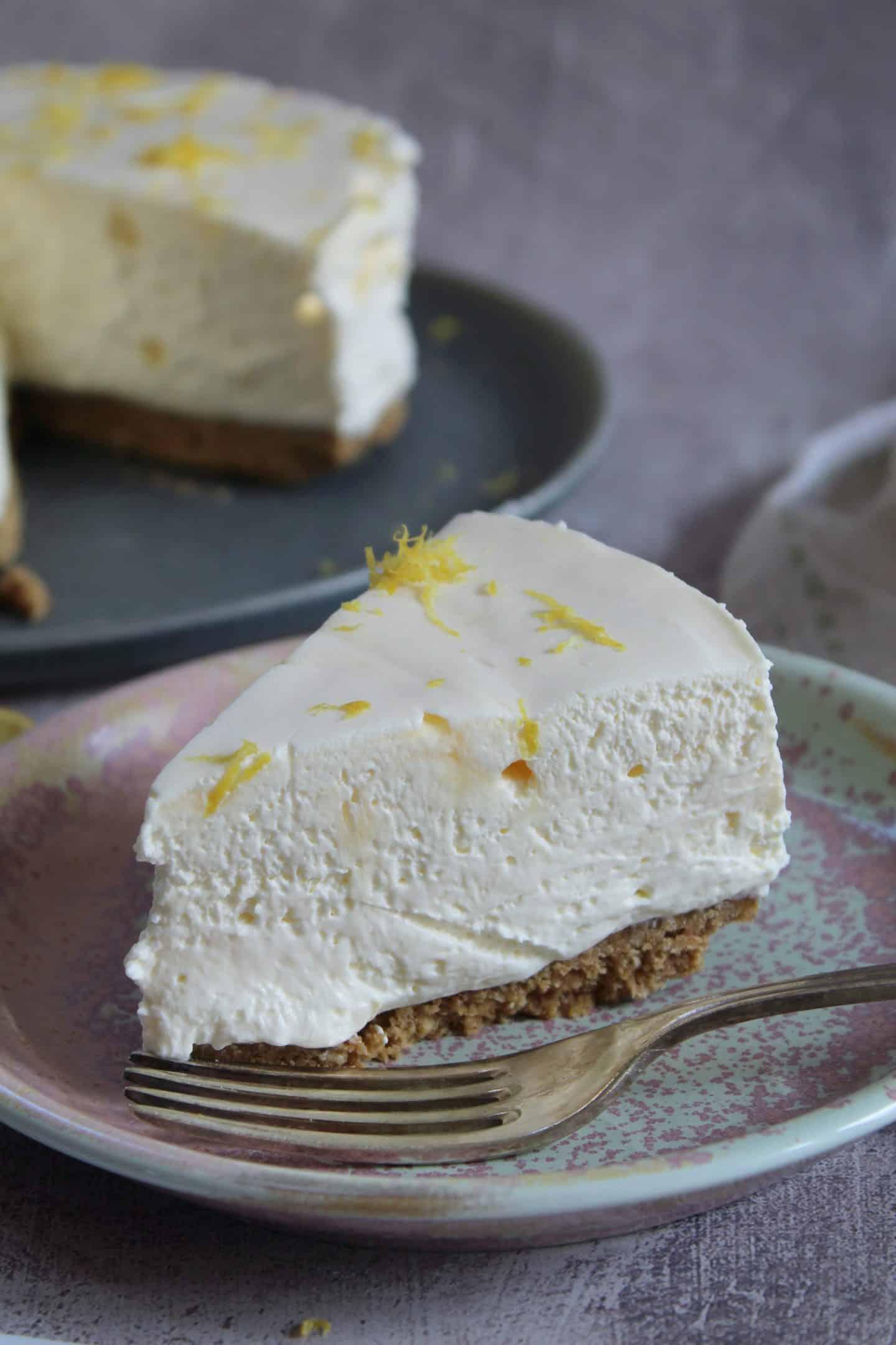 gluten free lemon cheesecake recipe no bake