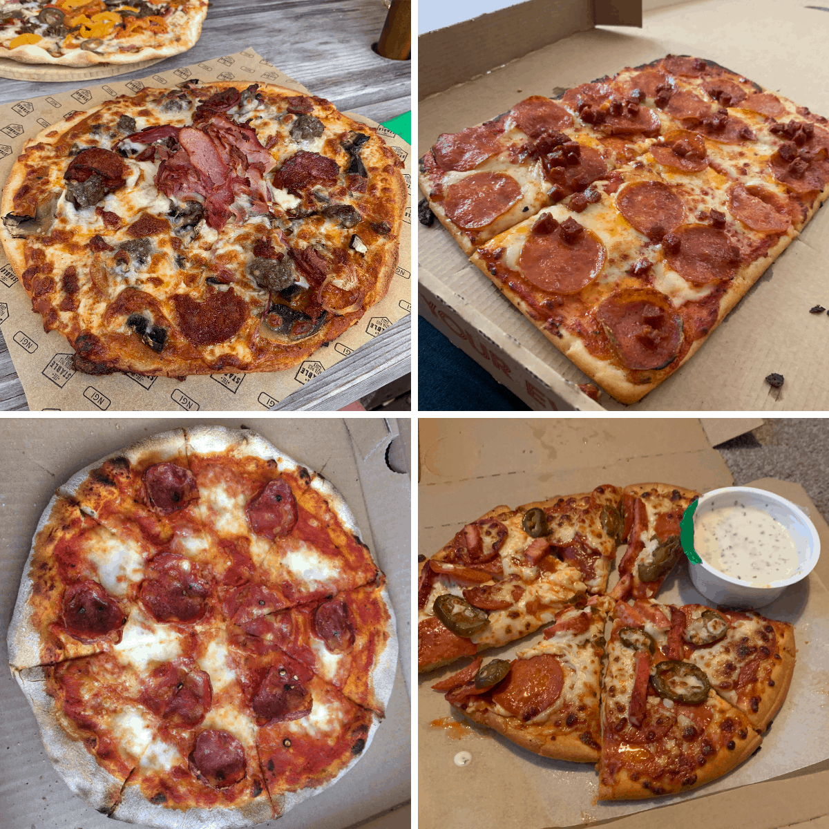 gluten free pizza deliveries in the uk