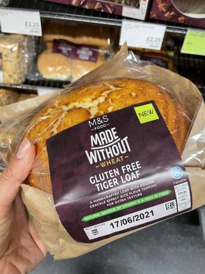 m&s gluten free tiger loaf