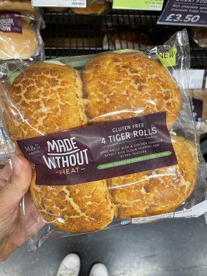 m&s gluten free tiger rolls