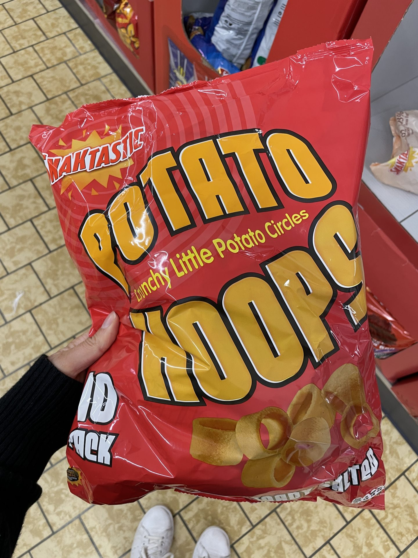 gluten free crisps hula hoops
