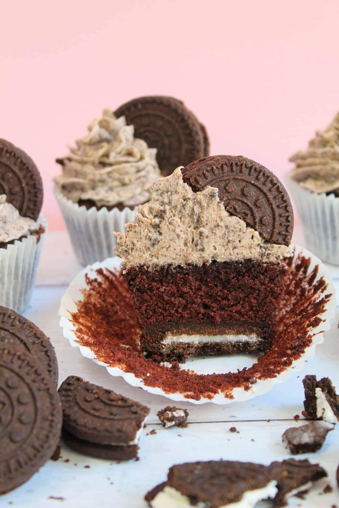 gluten free oreo cupcakes recipe