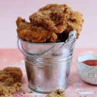 KFC STYLE GLUTEN FREE POPCORN CHICKEN RECIPE