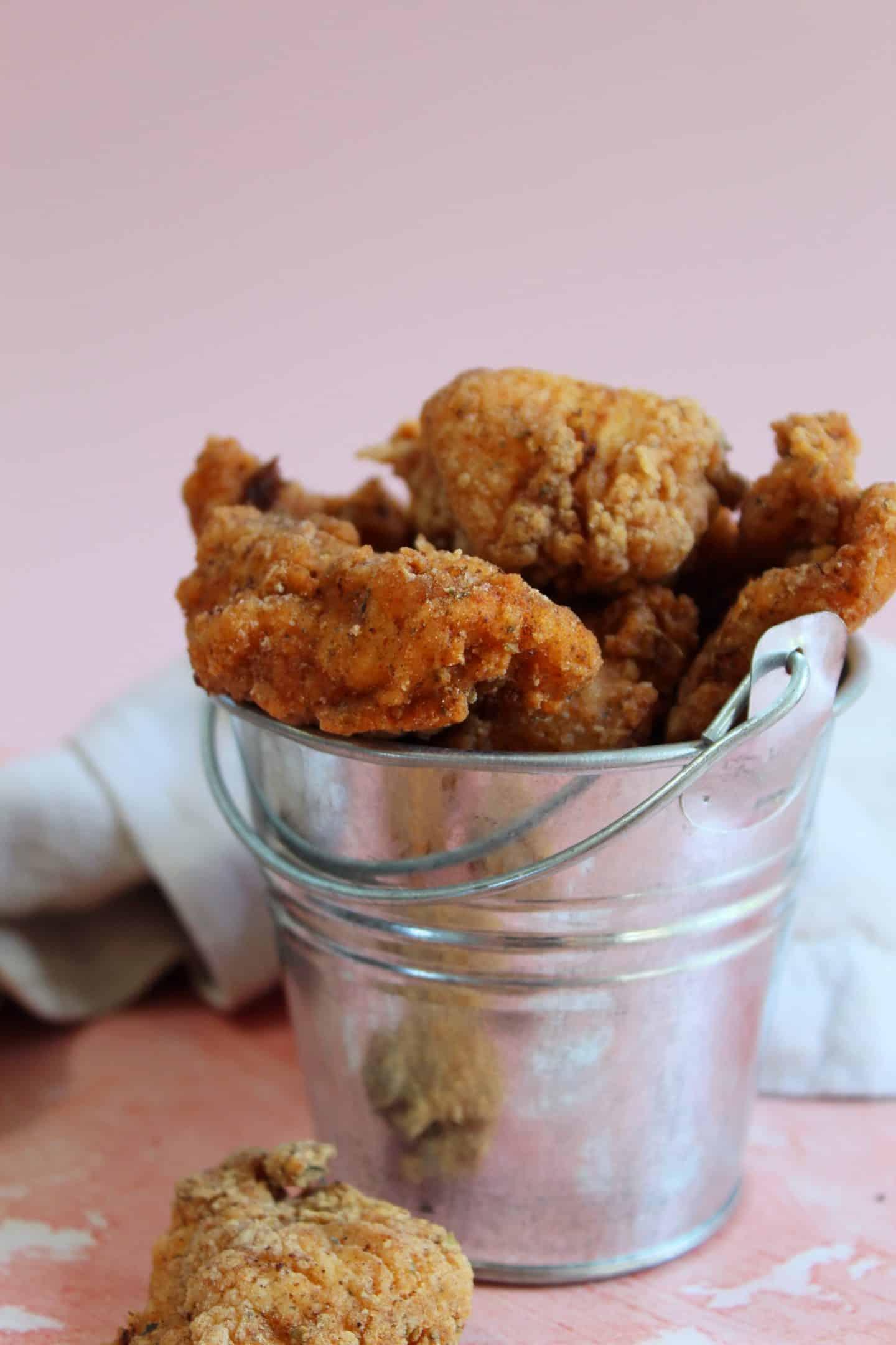 gluten free popcorn chicken kfc style