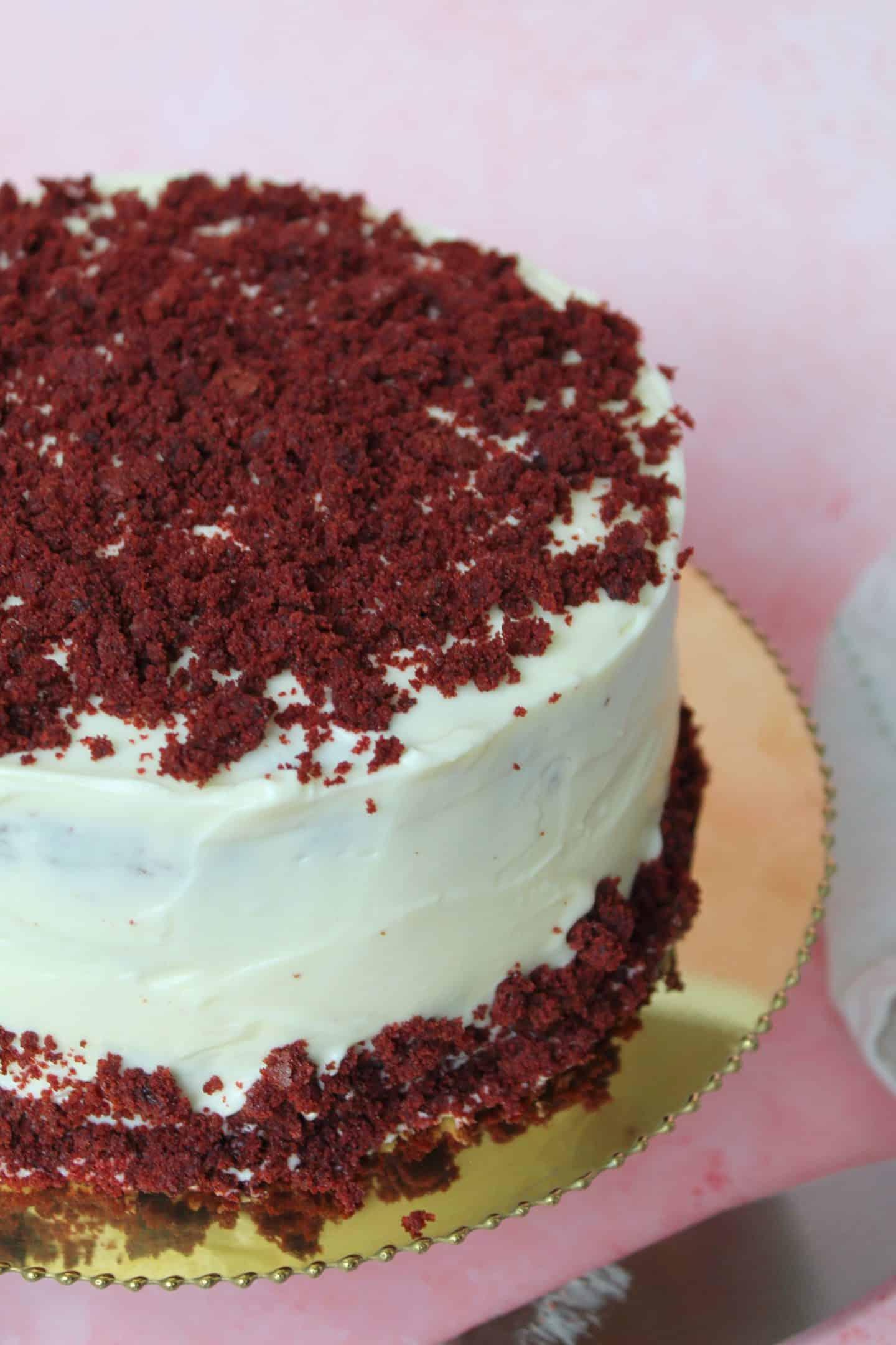 Gluten free red velvet cake recipe