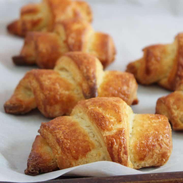 gluten free croissants recipe