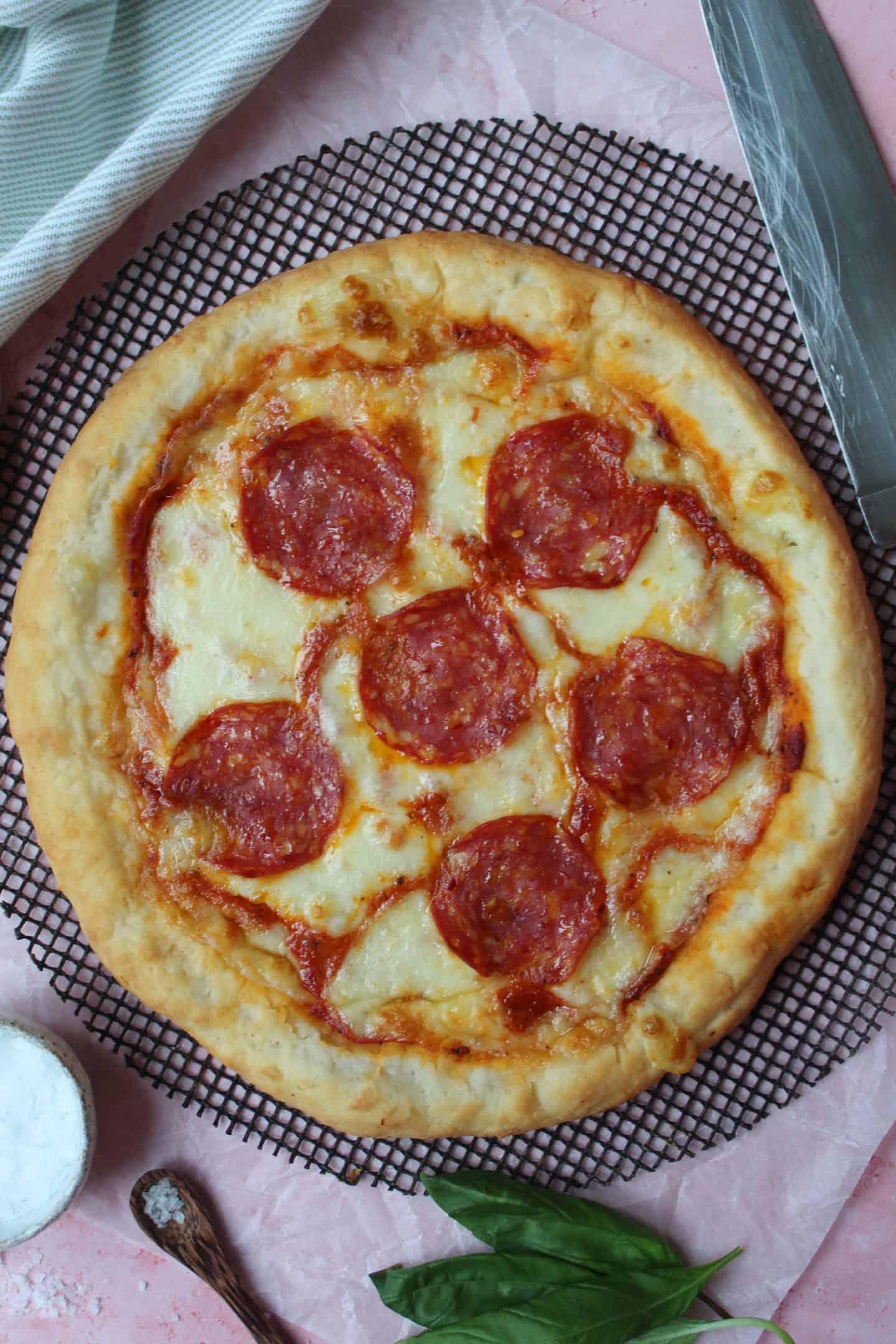 gluten free stuffed crust pizza recipe