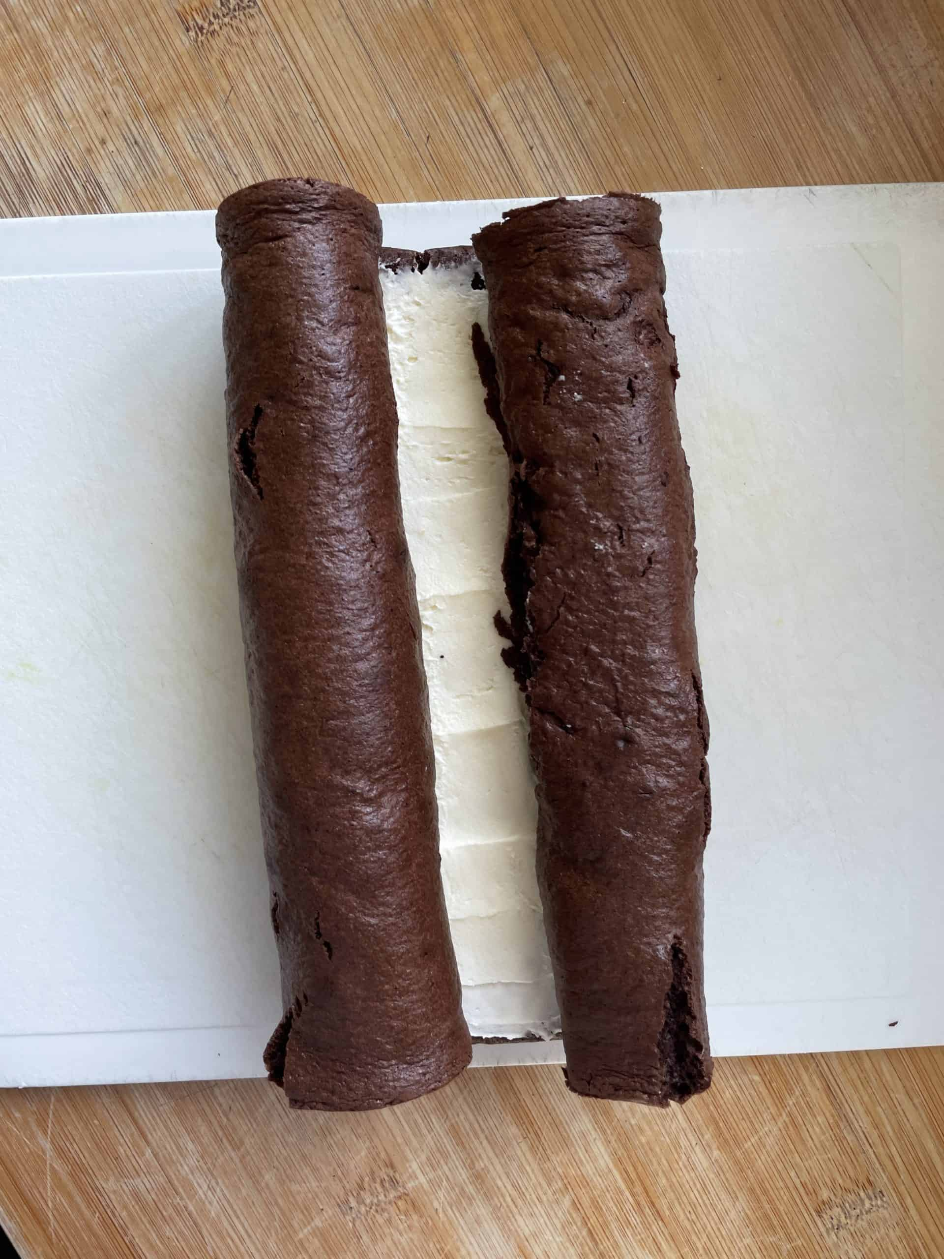 gluten free chocolate mini rolls