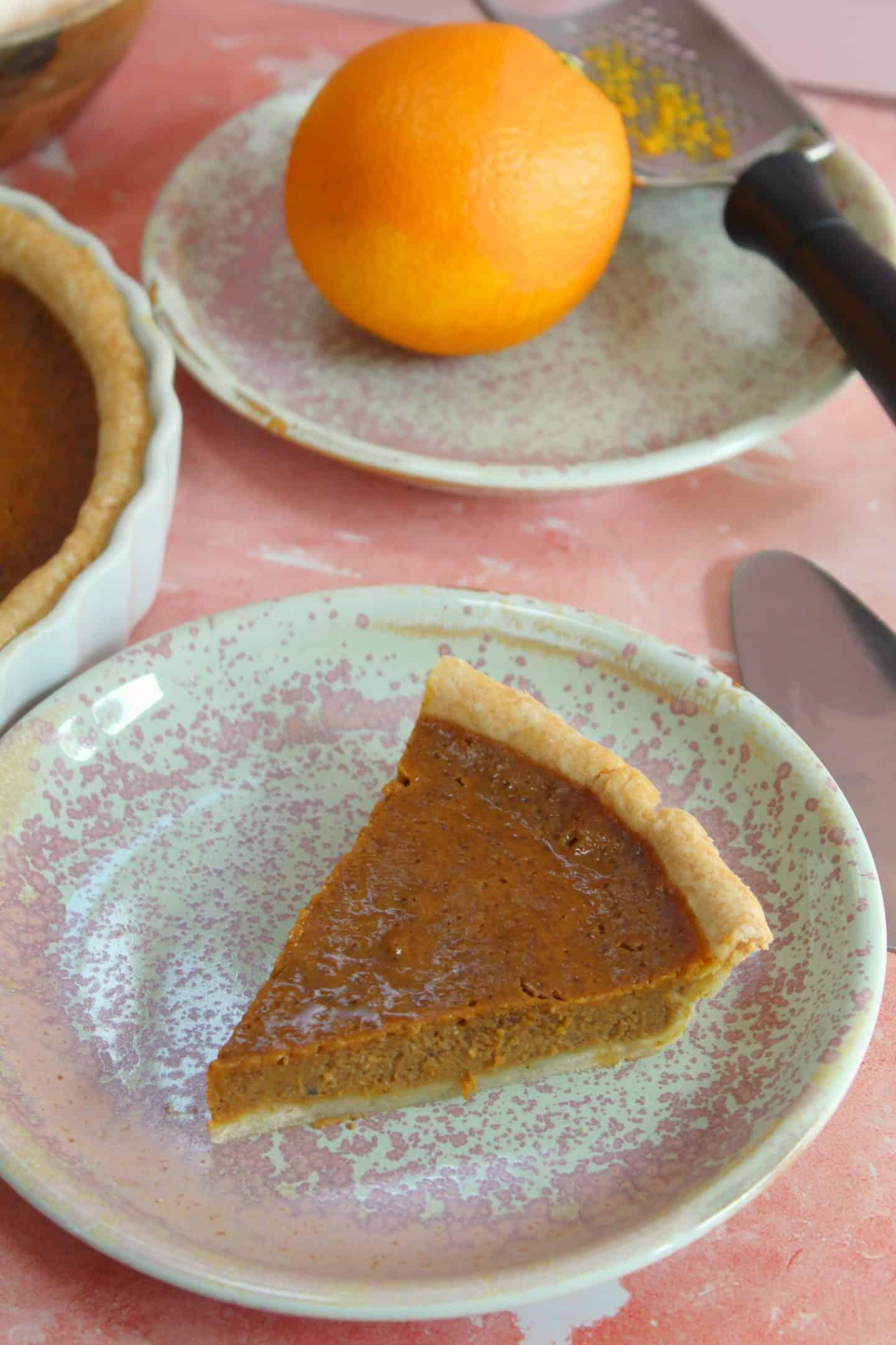 Gluten free pumpkin pie recipe