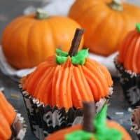Halloween Pumpkin Cupcakes Gluten Free 24